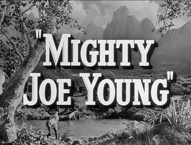 Mighty Joe Young title