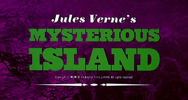 Mysterious Island title
