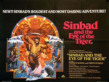 Sinbad and the Eye of the Tiger quad