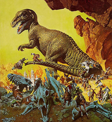 Valley of Gwangi poster Frank McCarthy